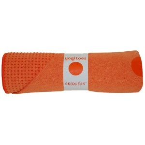 Yogitoes Non Slip Yoga Towel orange