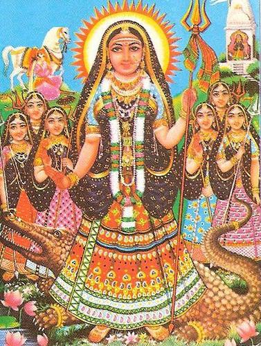 Hindu Goddess Akhilandeshvari