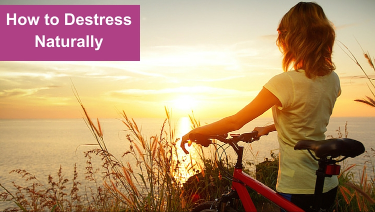 How to destress naturally