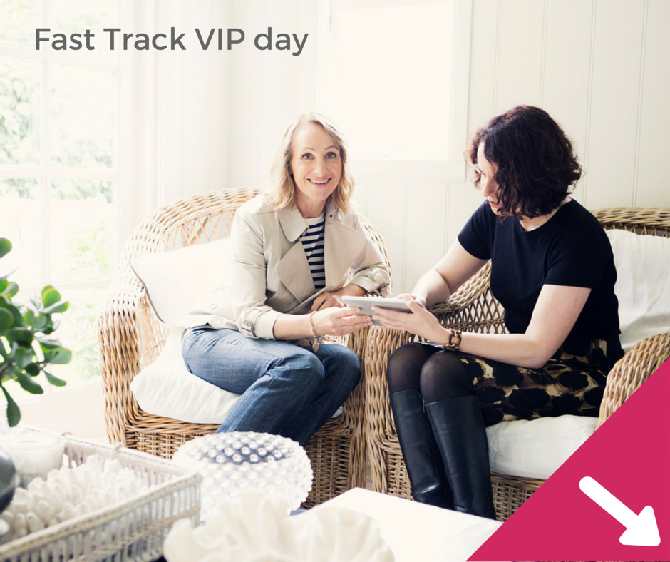 Fast Track VIP day Graphic